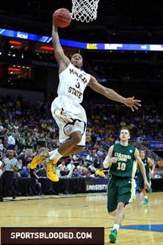 Isaiah Canaan flying high in Murray State's win over Colorado State.