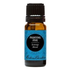 Fighting Five Synergy Blend Essential Oil by Edens Garden (Comparable to Young Living's Thieves & DoTerra's ON GUARD blend)- 10 ml