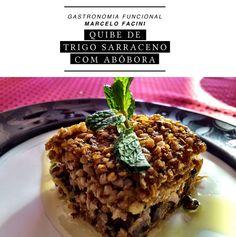 Quibe de trigo sarraceno com abóbora e tofu | CAROL BUFFARA