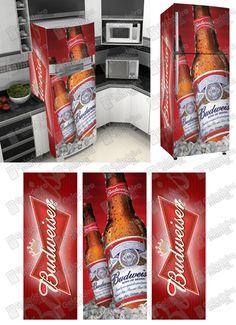 BD006 Budweiser  A Geladeira Mania pode te oferecer centenas de modelos um mais lindo que o outro. Os Adesivos para envelopamento de Geladeira são feitos especialmente para envelopar e decorar Geladeira, frigobar, freezer, cervejeira, entre outros. Com eles você pode envelopar e decorar ou dar um upgrade naquela Geladeira antiga. O Adesivo para envelopamento de Geladeira é produzido em vinil pvc auto colante e impresso em alta definição e com materiais de alta durabilidade que garantem as…