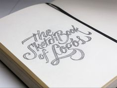 The (sketch)Book of Logos by Jackson Alves, via Behance