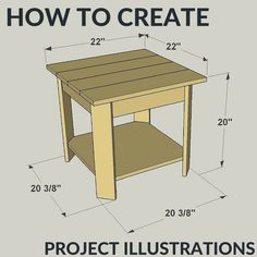 Learn how to create project illustrations.