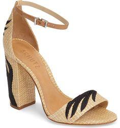Main Image - Schutz Carolaine Woven Sandal (Women)