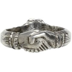 silver fede ring
