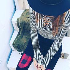 LF striped long sleeve Nwt LF Tops