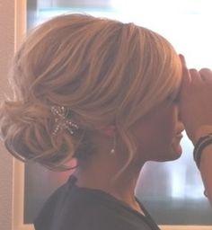 Wedding hair Up do Formal