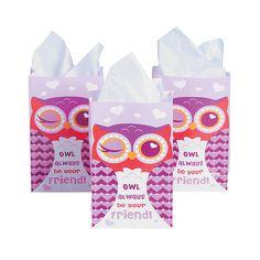 Owl Always Love You Treat Bags - OrientalTrading.com