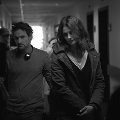 Stana Katic, Oded Ruskin, bts Absentia