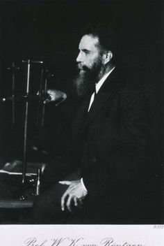 Wilhelm Rontgen. German Physicist. X-Ray inventor.