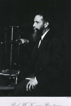 Wilhelm Rontgen. German Physicist. X-Ray inventor.