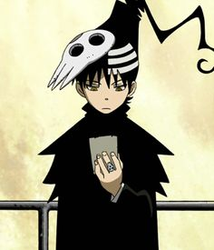 Soul Eater ~~ He looks like we all do when we can't find a street address :: Death the Kid