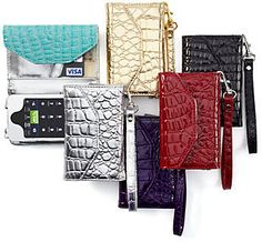 Built-in iPhone Wristlets... umm yes please!!