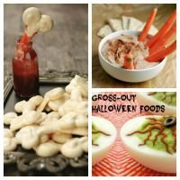 If you are planning a Halloween party here are six awesome and disgusting gross-out foods for you to serve.
