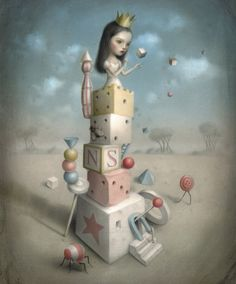 Beautiful+Nightmares+by+Nicoletta+Ceccoli   Nicoletta Ceccoli