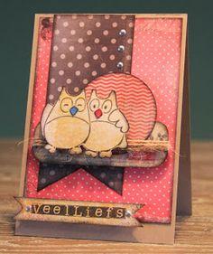 Scrapbookzolder - Blog: 5 leuke kaarten uit 1 papierblok!!