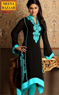 simple but elegant indian attire | Indian Wedding Suits 2013 By Meena Bazaar | Formal Dresses 2013 For ...