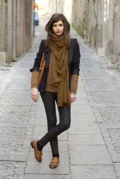 大人っぽく履くなら黒のジャケットをオン☆かっこいいドレスシューズのコーデ☆スタイル・ファッションの参考に♪