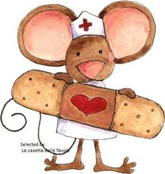Get well soon! Love and hugs. Well Images, Nurse Art, Get Well Wishes, Applis Photo, Cute Clipart, Get Well Soon, Get Well Cards, Afrikaans, Cute Illustration