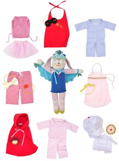 blabla dolls now have clothes - just look at the little red riding hood cape!!