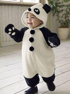 baby fashion New Panda design romper