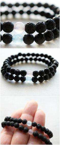 Couple Bracelets His and Hers Bracelet Set by KapKaDesign on Etsy