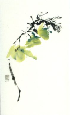 """Just A Breath""   Sumi-e    www.lilithohan.com  Sold"