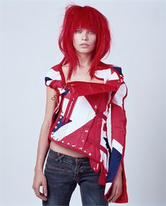 Free designer pattern - Jonh Gallian's jacket