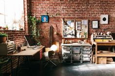 Where We Create: A Look Inside Real Life Craft Rooms & Art Studios