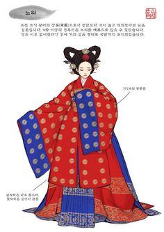 Ideas For Anime Art Reference Textiles Korean Traditional Dress, Traditional Fashion, Traditional Dresses, Korean Accessories, Korea Dress, Korean Hanbok, Fashion Illustration Sketches, Korean Art, Chinese Clothing