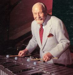 Red Norvo 31/03/1908 – 5/04/1999  Vibraphone  Photograph by Michael Slaughter