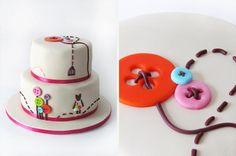 Matilde's Christening Cake