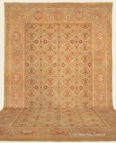 """AMRITSAR, Northern India Antique Rug 12' 3"""" x 18' 9"""" — Late 19th Century- Claremont Rug Company"""