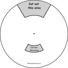Blank Five-Division Word Wheel: Printable Worksheet ... | Teacher ...