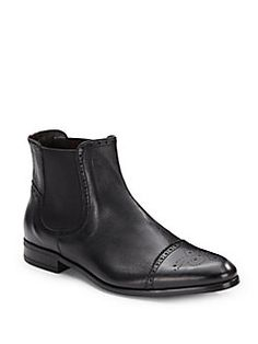 BRUNO MAGLI Saltro Leather Boots. #brunomagli #shoes #boots