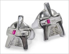 Reasons I'm single # 1123,6536,5321. Assuming I ever meet someone and she is insane enough to want to marry me, she might get one of these Cylon head rings as an engagement ring.