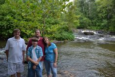 Mincey Family. #Family #Love #Rapids #HighFalls
