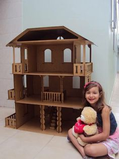 1000 images about casas mu ecas on pinterest barbie doll houses and antigua - Grande maison de barbie ...