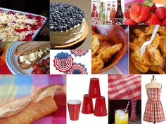Memorial Day Picnic Party Ideas and Inspiration ~ NOTE TO SELF:  GREAT link!  Explore further at a later date!  :)