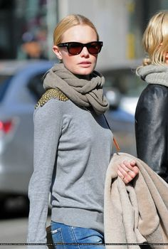 Kate Bosworth  studded sweater