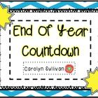 This End Of Year Countdown Activity pack is the perfect way to end the school year! Students will be excited about each of the activities and it wi...