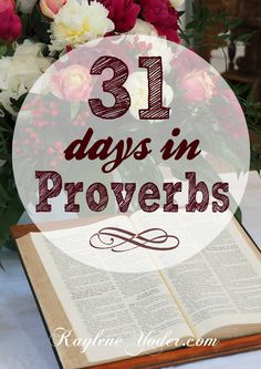 31 Days in Proverbs ~ A great 31 day devotional series to strengthen your faith!