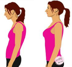 Exercises for Good Posture - These 6 workouts will not only help you to have better posture but also prevent hunched shoulders.
