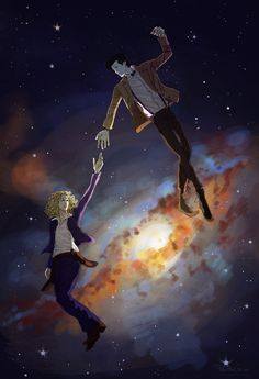 """11 Gorgeous, Poignant Pieces Of """"Doctor Who"""" Fan Art.  This one's of the Doctor and River."""