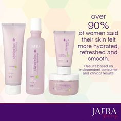 Plant-derived ingredients supply the intense, lasting moisture your skin craves. http://jafra.me/z4c