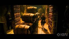 """A fifth clip!!!!!!! This is just...i can't. :D :D The Hobbit: The Desolation of Smaug - """"Into The Barrels!"""" Clip. So excited for this scene"""