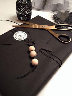 Elegant monochromatic - try it with pearls or rhinestones