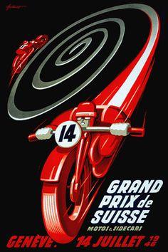 Swiss Motorcycle & Sidecar Grand Prix Geneva 1946