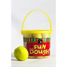 Educational Fun Dough 1.2kg Yellow Christmas Gift Guide, Christmas Gifts, Coffee Cans, Boy Or Girl, Stationery, Education, Yellow, Fun, Kids