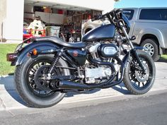 Club/Thug style Sportster? - Harley Davidson Forums