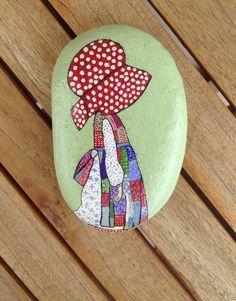#Sarah Kay #painted #rocks #pebbles #stones #acrylics #art #N4Joy